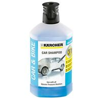 Karcher Car & Bike Shampoo Wash - 1L - For Use in 3-In-1 Pressure Cleaners