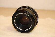 Mamiya Sekor E 50mm F 1:2 Prime lens - Excellent !!!