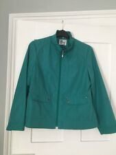 Ladies Elegance Green Coat Size 16 / 42