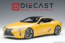AUTOART 78847 LEXUS LC500 (METALLIC YELLOW) 1:18TH SCALE