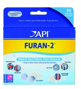 API Furan 2 Powder Combat Wide Variety Gram Positive Bacterial Diseases 10 Pack