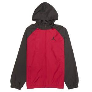 NIKE Air Jordan Kids Jacket Nylon 958025-R78 Black/Red Mod. 958025-R78