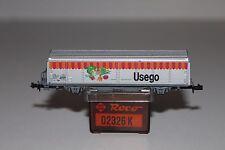 N Scale Roco 02326K Usego Merchandising Refrigerator Wagon Car