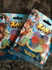 Zak Storm Collectible Treasure 4-pack Blind Bags Netflix Lot Of 8 Sealed