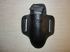 MINI PANCAKE HOLSTER FOR 380 & 9 MM MAGS & FOLDING KNIFES & NAA 22 LR & MAGNUM
