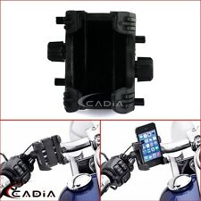 Tech Connects Device Cell Phone GPS Mount Clamp Holder For Harley 883 1200 XL
