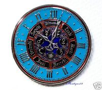 Strasburg Astronomical Clock - Nickel Finish - New Unactivated Geocoin