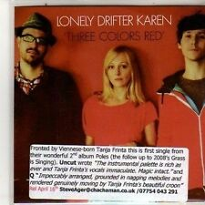 (DB114) Lonely Drifter Karen, Three Colors Red - 2012 DJ CD