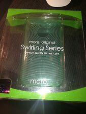 MORE THING SWIRLING SILICONE CASE CUSTODIA IPHONE 3GS ULTRASLIM COME NUOVA AZZUR
