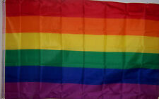 GAY & LESBIAN PRIDE RAINBOW FLAG NEW 3x5 ft GLBT better quality USA SELLER
