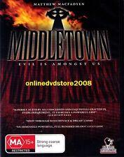 MIDDLETOWN (Matthew MACFADYEN Daniel MAYS) THRILLER DVD NEW SEALED Middle Town