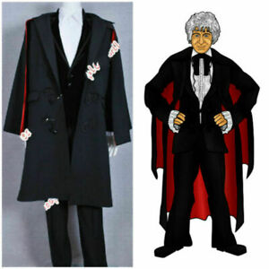 Doctor Who cosplay Who Doctor For The 3rd Dr Jon Pertwee Cosplay Costume Outfi