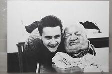 """DAMIEN HIRST : """"With Dead Head"""" limitierte Kunst-Postkarte (Ausstellung)"""