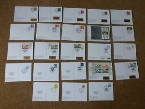 Excellent Collection GB Definitive PHQs with FDI on reverse (23)