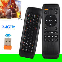 Wireless Remote Control Air Mouse with Keyboard for Android/Linux/Smart TV/PC