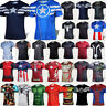 Mens Sports Jersey Tops Compression Tee T-shirt Short Sleeve Tee Superhero Shirt