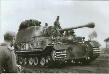 WW II German Photo --  Sd.Kfz. 184.Tank Destroyer -Elephant