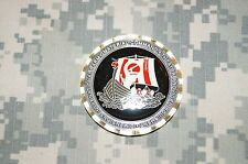 RARE US Army Army Material Command First Sergeant Retired Challenge Coin