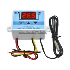 XH-W3002 AC 110-220V Digital LED Temperature Controller Microcomputer Thermostat