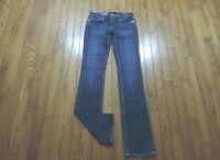 "AG Adriano Goldschmied Jeans ~The Ballard Slim Boot~Size 25 X 33""~Dark Wash"