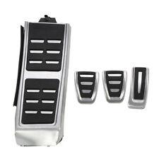 MT Car Fuel Brake Footrest Pedals  for Audi A4 B8 S4 RS4 Q3 A5 S5 RS5 8T Q5 A7O7