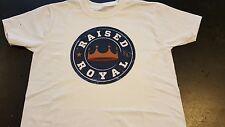 Kansas City Royals raised royal logo tshirt s, m, l xl