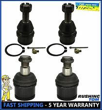 Ford F250 F350 4WD Twin I-Beam Axle 4600 Lb 4 Pc Kit Upper & Lower Ball Joints