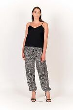 Free Size comfortable Printed Cotton Bottom - Summer Trousers With Back Pockets