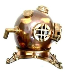 Nautical Deep sea Maritime Antique Mark V collectible Home decors Diving Helmet