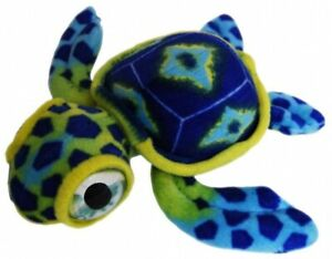 Turtle Sea Blue Plush Stuffed Toy 15cm Turner Turtle by Elka Australia