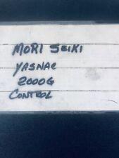 Mori Seiki Yasnac 2000G Control Manual