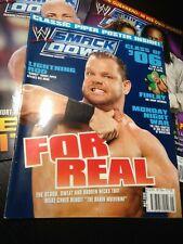 WWF WWE SMACKDOWN Magazine MAY 2006 - Chris Benoit + Roddy Piper Poster