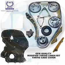 Per FORD TRANSIT 2.4 DI TDI TDCI TDE DIESEL TIMING CHAIN KIT COVER NUOVA modificato