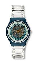 Swatch Armbanduhren aus Kunststoff mit Edelstahl-Armband