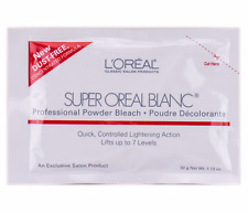 NEW L'OREAL Salon Hair Professional Super Oreal Blanc Powder Bleach Blonde,Roots