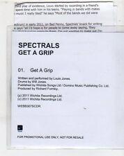 (ET261) Spectrals, Get A Grip - 2011 DJ CD