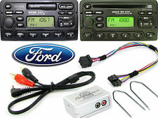 Ford Focus Puma Escort AUX adapter with radio removal release keys CTVFOX001 HTC