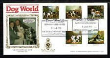 1991 DOGS: Dog World (DWPA - Skinner) OFFICIAL Limited Edition FDC - See scans