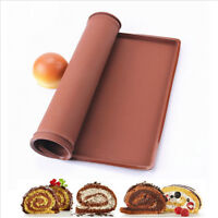 HD_ BL_ Flexible Silicone Swiss Roll Mold Pastry Cake Cookie Baking Sheet Pad Ho