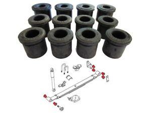 Kit 12 silentblocs des lames arrières pour Nissan PICK-UP D21