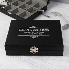 Personalised Mens Jewellery Box Wedding Groom Gift Anniversary Christmas Gifts