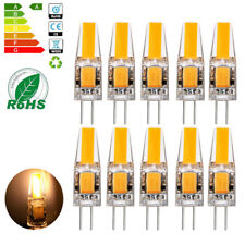 10x G4 LED COB 3W Lampen Stiftsockel Leuchtmittel Warmweiß Dimmbar AC / DC 12V