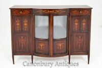 Sheraton Revival Cabinet Sideboard Edwards and Roberts 1880