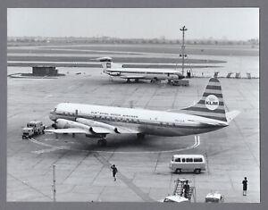 KLM ROYAL DUTCH AIRLINES LOCKHEED ELECTRA PH-LLH VINTAGE PHOTO BEA TRIDENT