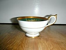 English Bone China AYNSLEY Forest Green Cabinet Cup ~ Tea Cup ~ 193