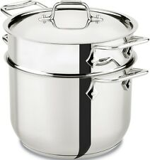 All-Clad Stainless Steel 6 qt. Pasta Pot w/Insert brand New