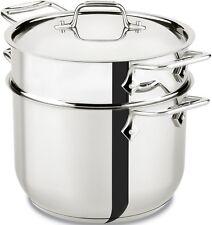 All-Clad Stainless Steel 6 qt. Pasta Pot w/Insert brand New