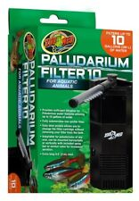 Zoo Med Paludarium Filter 10 For Aquatic Animals Low Profile Filters Up To 10gal