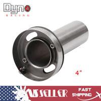 "Universal 4"" Adjustable Round Tip Silencer Exhaust Muffler Removable Silencer"