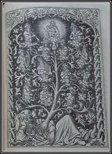 (1890) 1st Roman BIBLE 516 ENGRAVINGS Fine Binding ILLUSTRATED Christian Antique